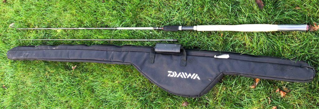 Daiwa Yank n Bank rod and rod case