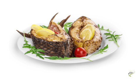 Are Carp Edible - prepared carp dish on plate