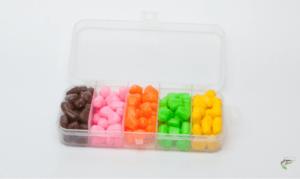 Carp fishing with sweetcorn - Imitation corn in box