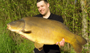 what is carp fishing - leather carp