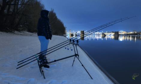 Winter Carp Fishing Rigs - Winter night carp fishing