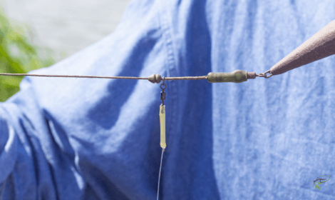Winter Carp Fishing Rigs - assembled chod rig