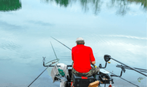 What is commercial carp fishing - match fisherman fishing with a pole